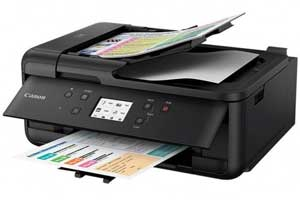 Canon TR7550 Driver, Wifi Setup, Manual, App & Scanner Software Download